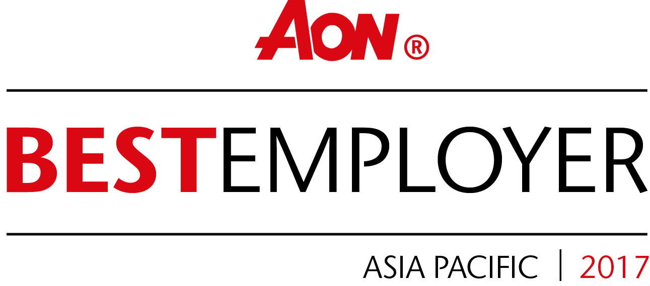 AON Hewitt Best Employer in Asian-Pacific region 2017